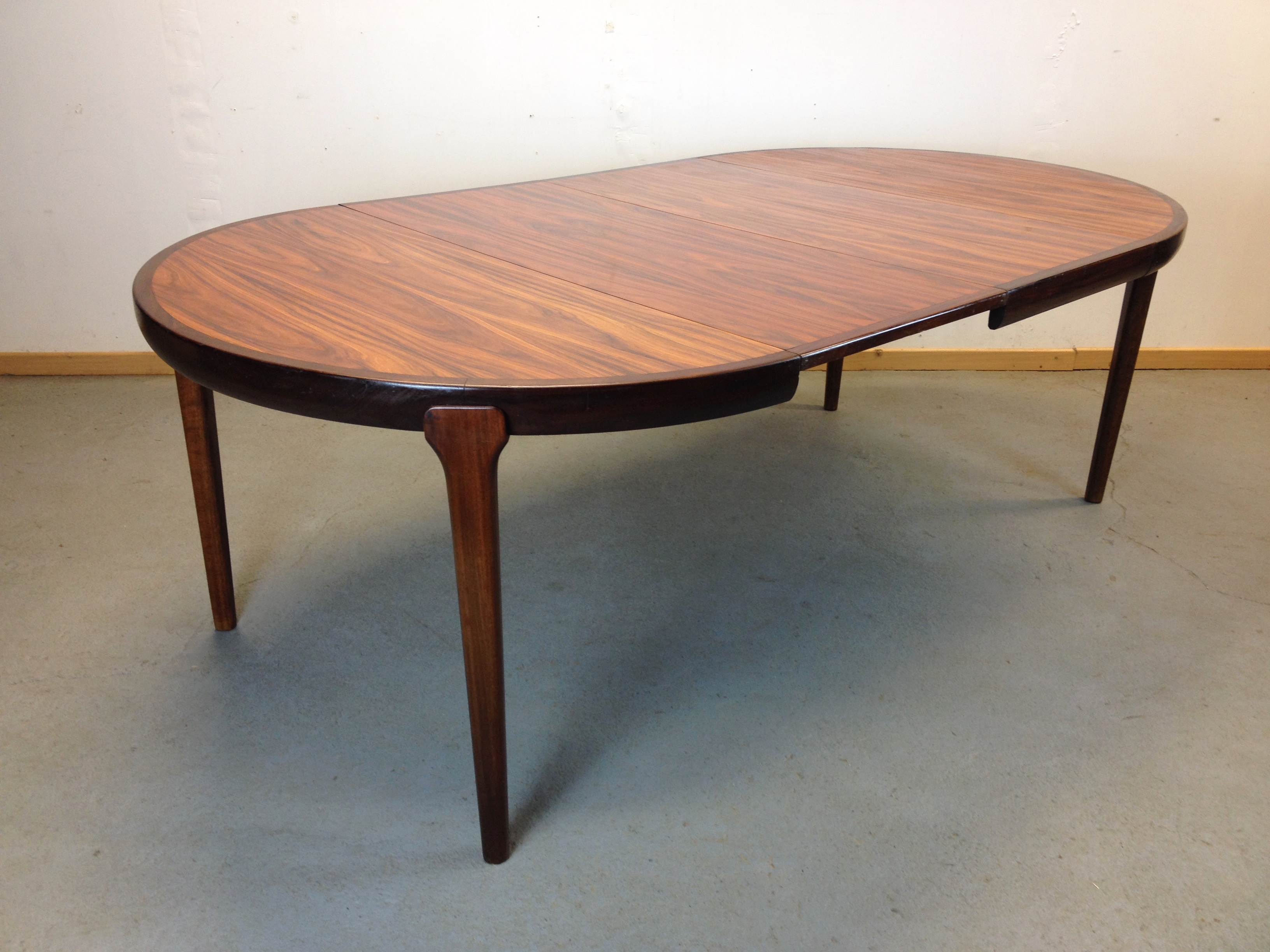 table scandinave palissandre ann e 60. Black Bedroom Furniture Sets. Home Design Ideas