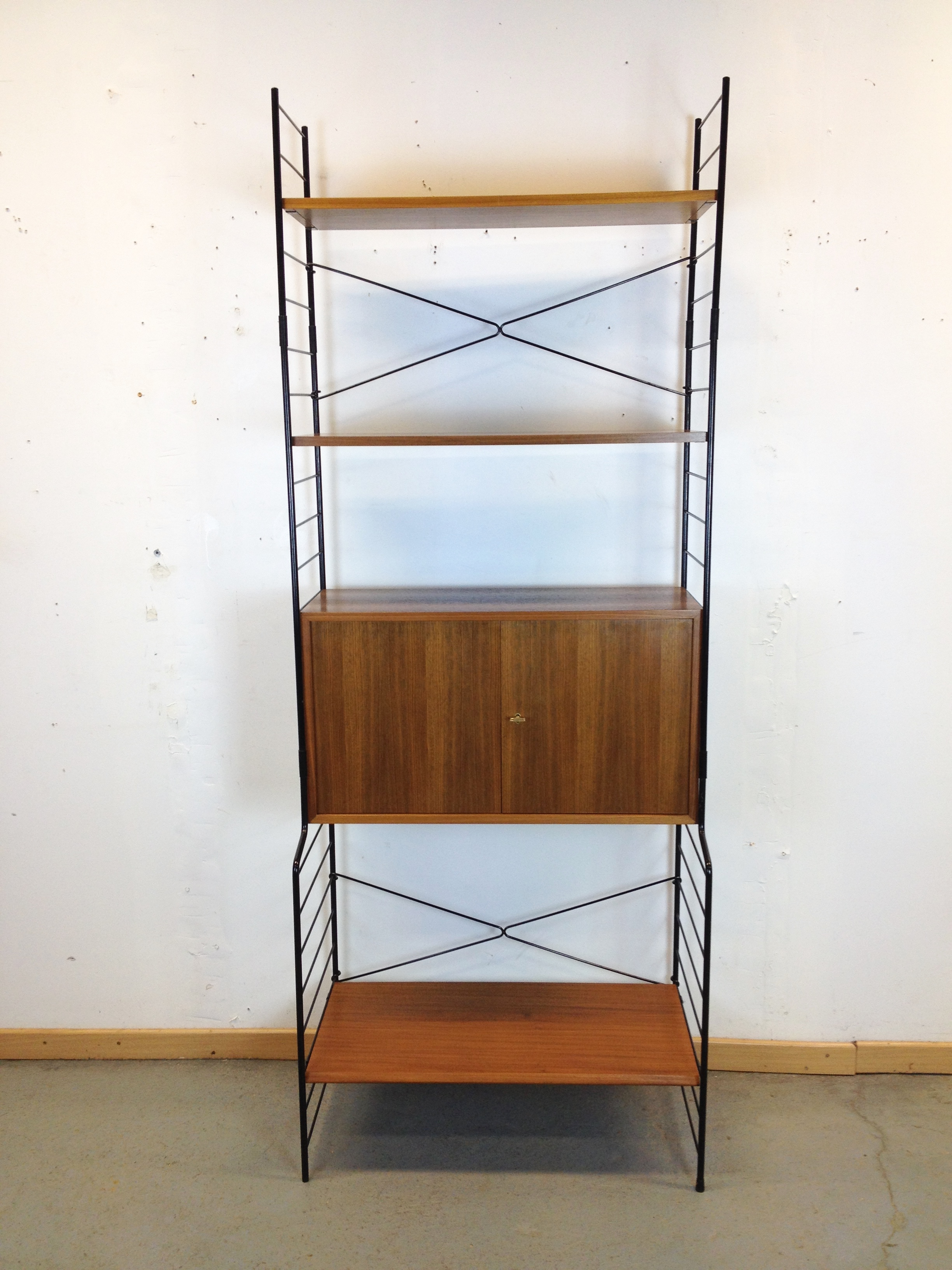 Etagere Bibliotheque Modulable Scandinave String Regal Annee 60