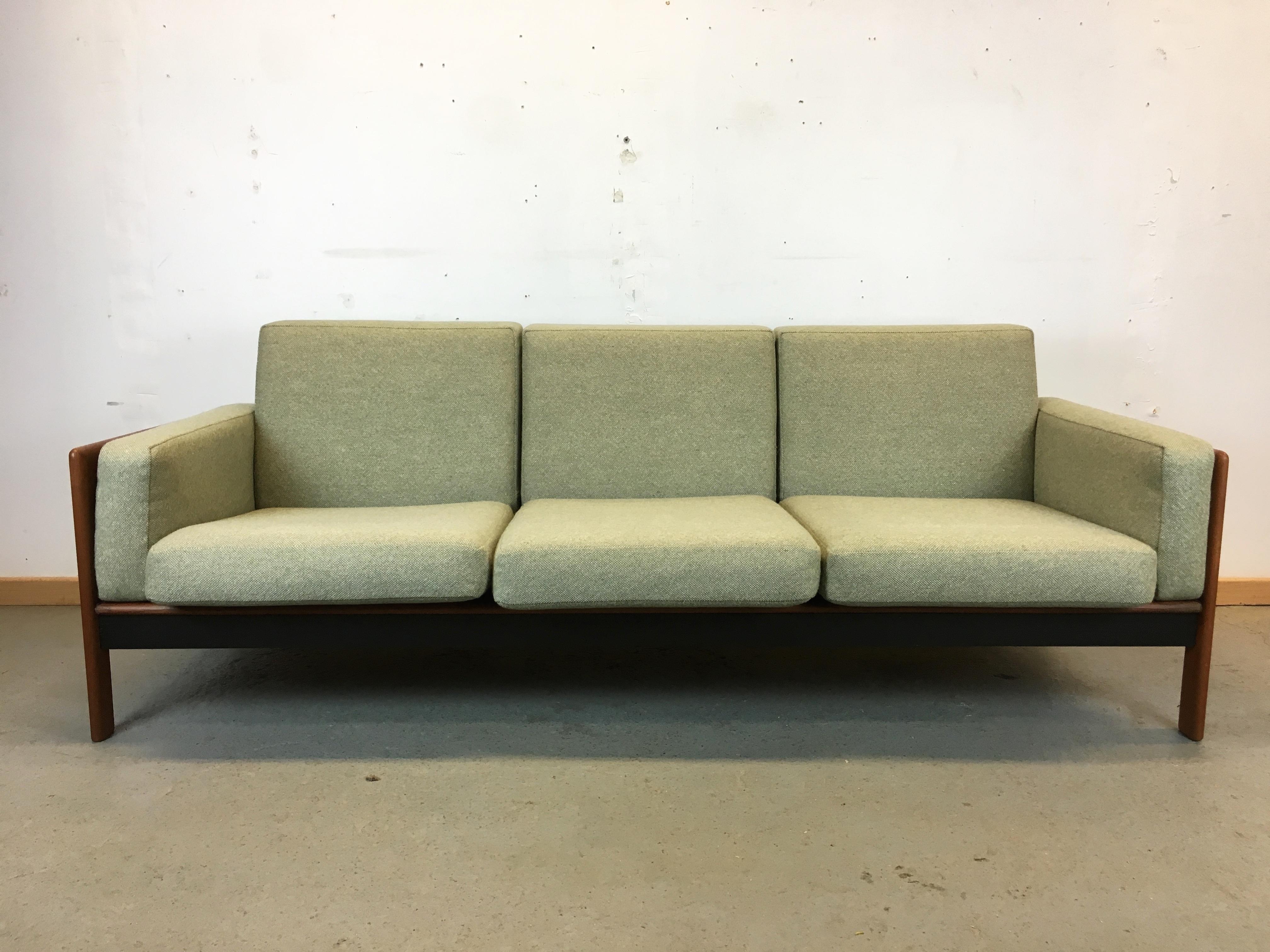 canap scandinave ann e 60 vintage sofa danish mid century. Black Bedroom Furniture Sets. Home Design Ideas
