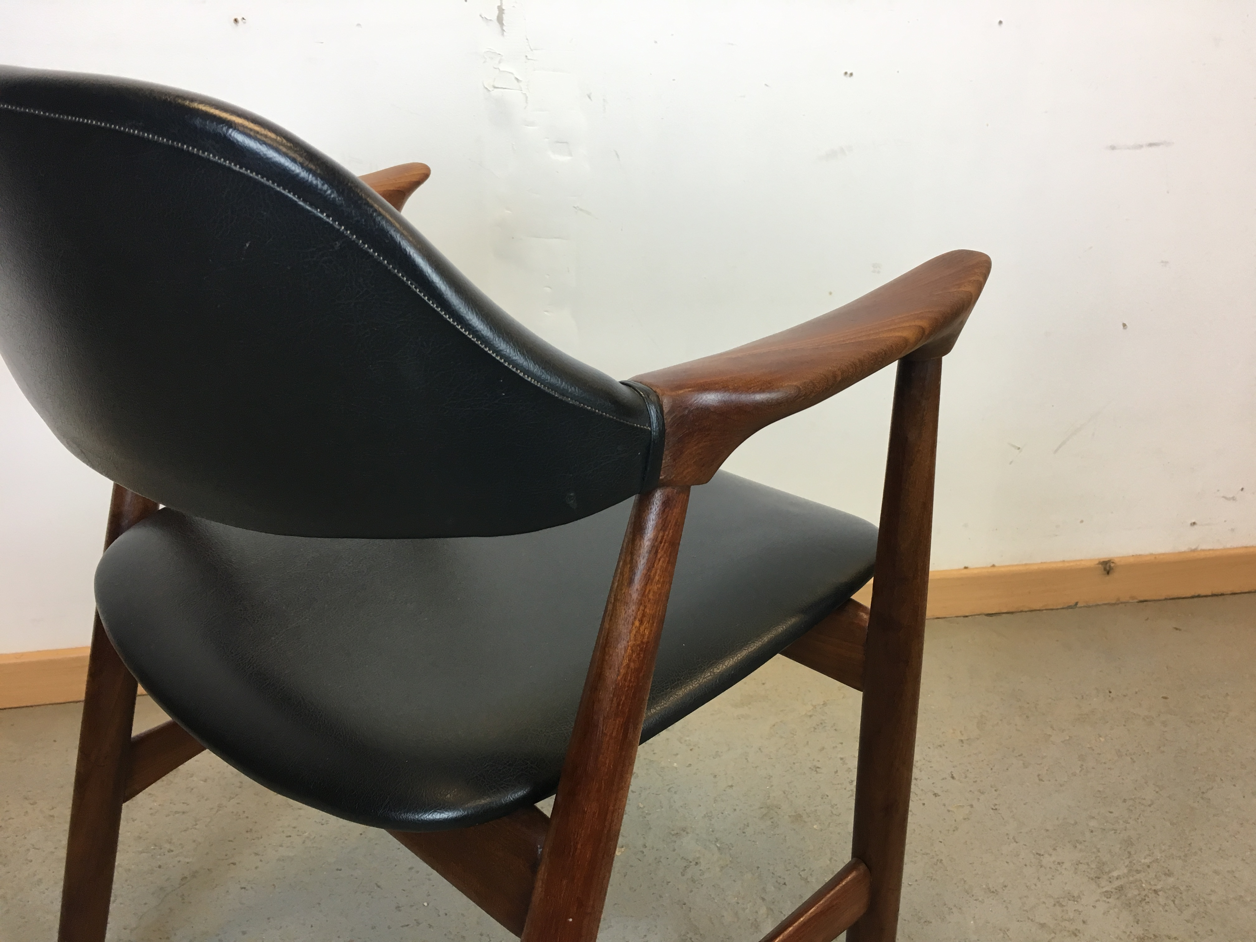 fauteuil scandinave ann e 60 chair danish 60 s. Black Bedroom Furniture Sets. Home Design Ideas