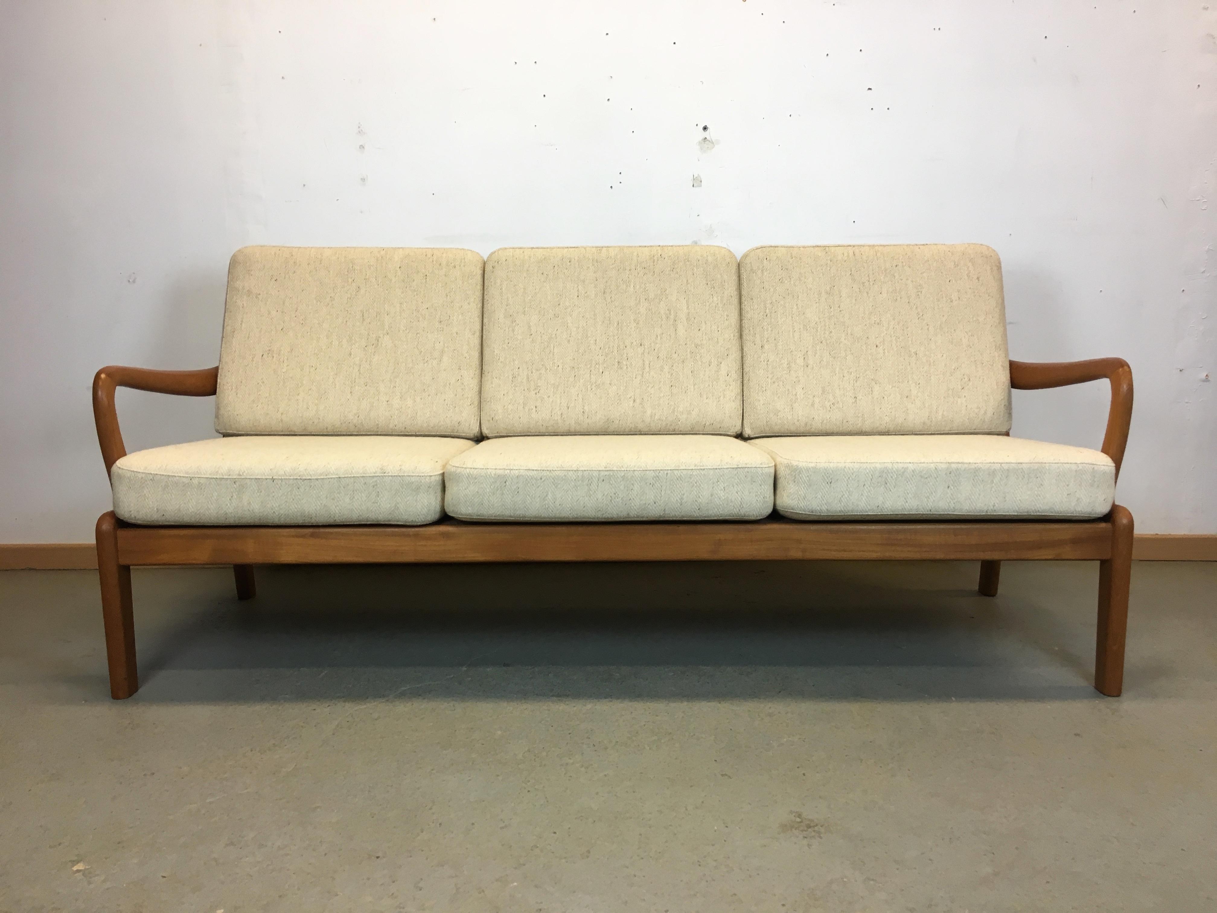 Canapé scandinave Année 70 vintage sofa Danish 70\'s |