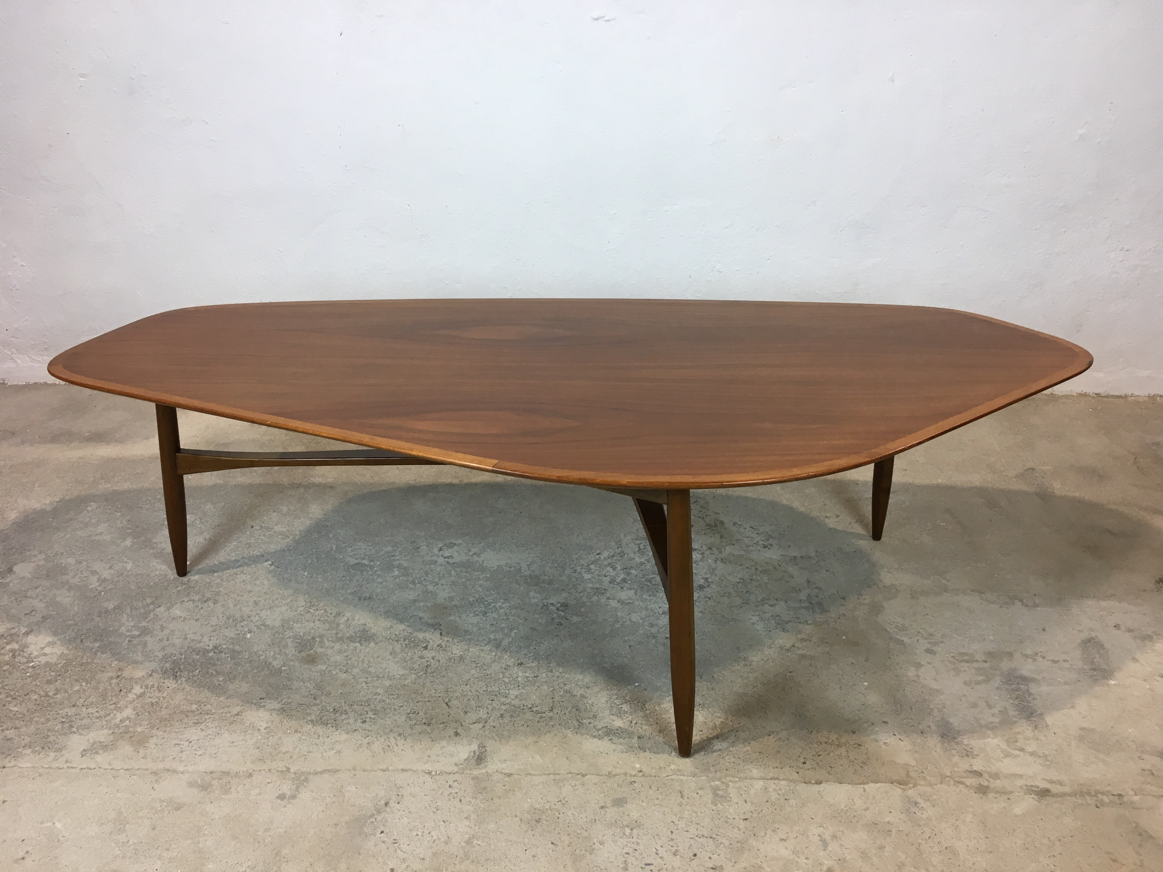 Table basse scandinave forme libre ann e 60 coffee table for 60s style coffee table