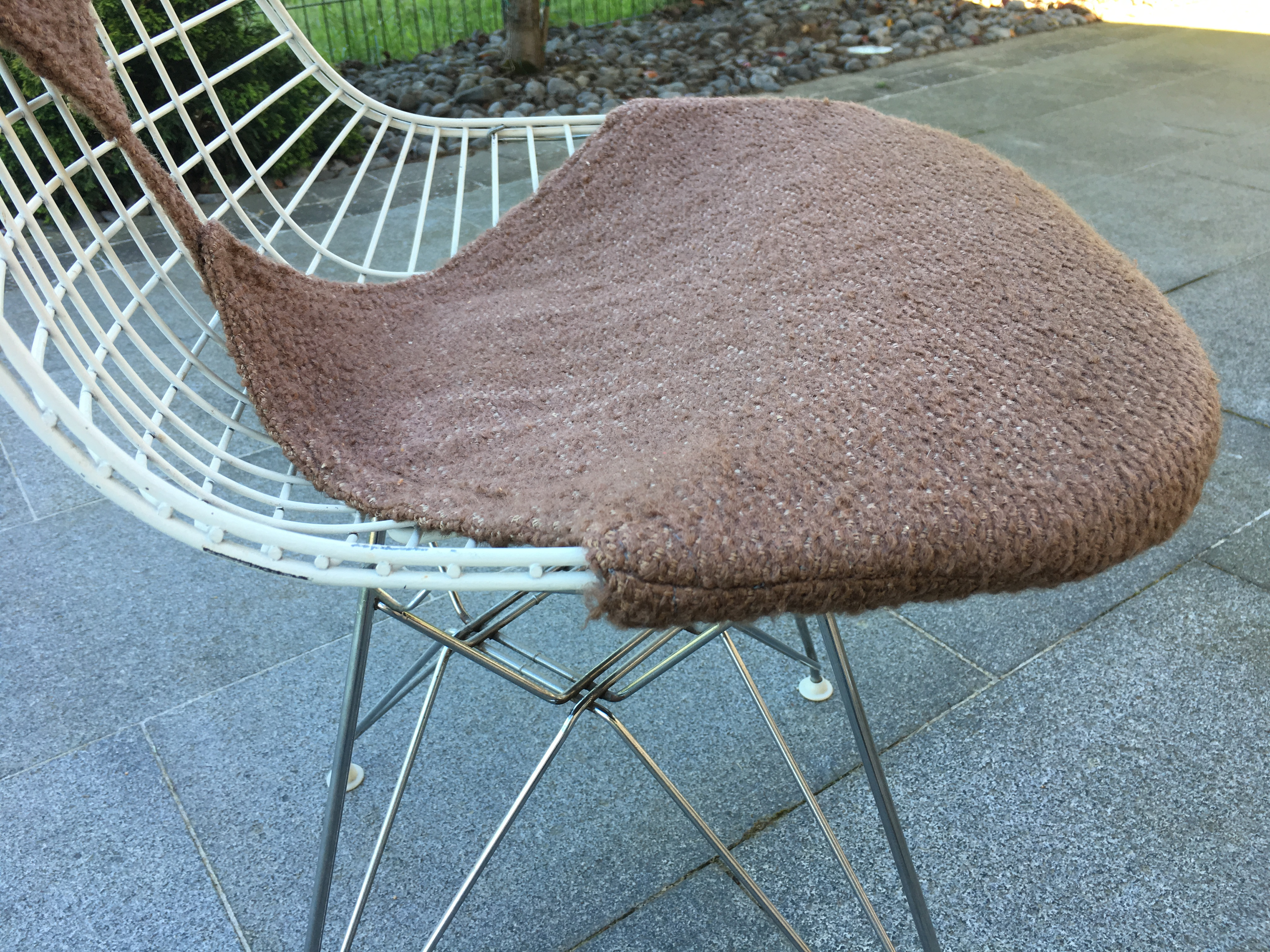 4 chaises Eames Herman Miller DKR2 1950 Set of 4 dining chair Eames ...